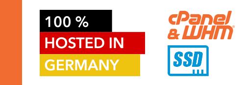 SSD Hosting in Deutschland