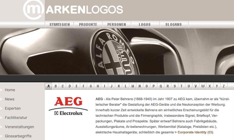 Marken Logos bei markenlexikon.com