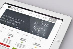 Webdesign Recycling Unternehmen