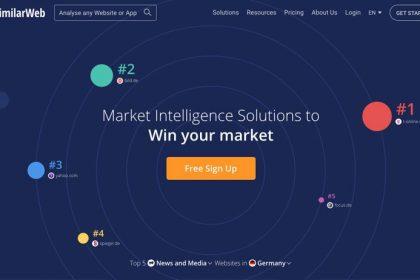 SEO-Tool von similarweb.com | 2021