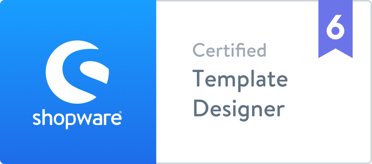Shopware 6 zertifizierter Template Designer