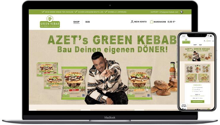 GREEN KEBAB